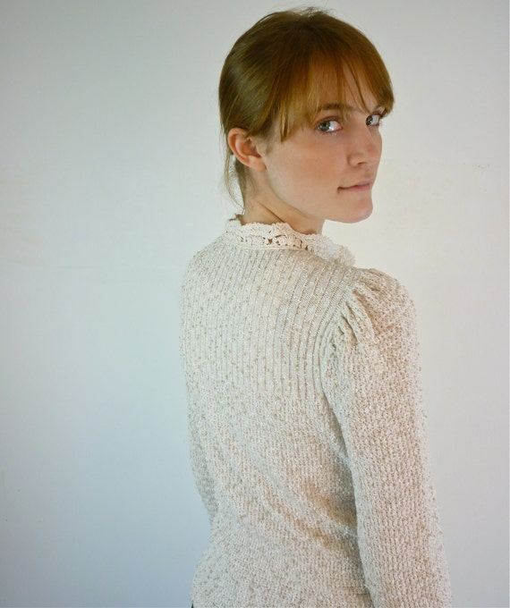 Boucle Sweater - Vintage Sweater