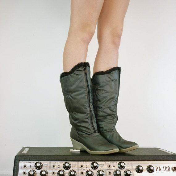 Vintage Boots, Size 7.5 - 8