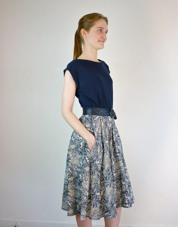 1980s Day Dress / Vintage Sundress