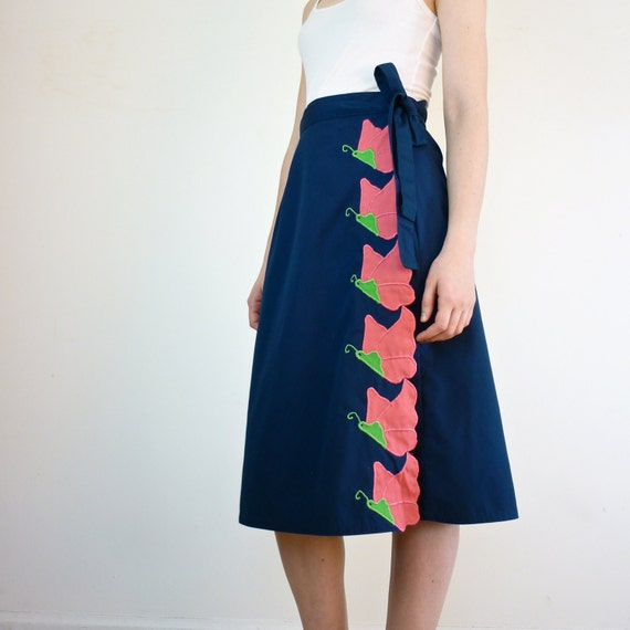 Wrap Skirt - Butterfly Wrap Around Skirt