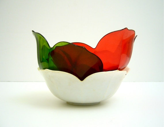 RESERVED. Multicolored Tulip Dishes