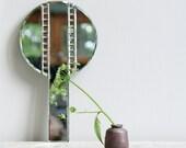 Vintage Art Deco Hand Mirror