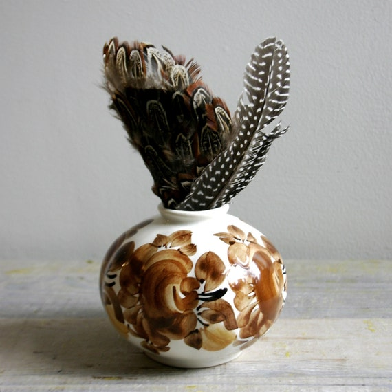Vintage ZF KOLO Polish Pottery Vase
