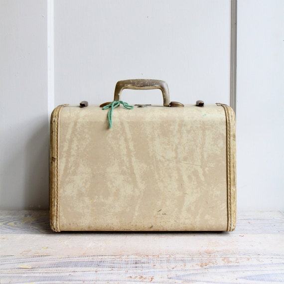 Vintage Carry On Suitcase