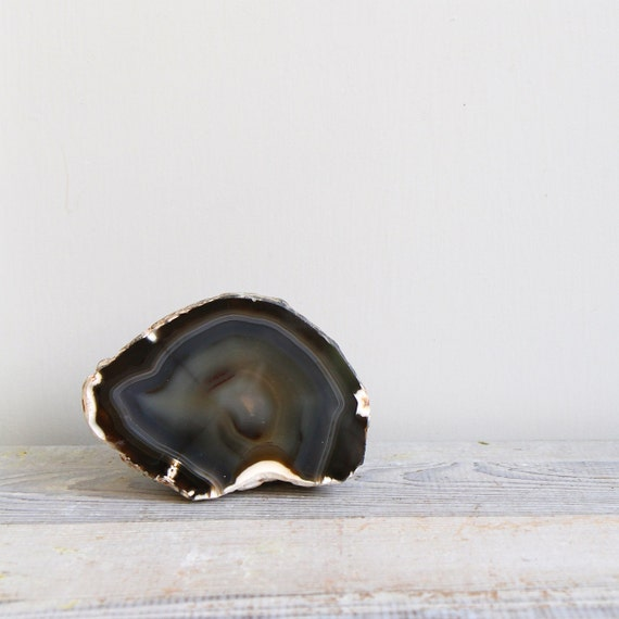 Large Vintage Geode Specimen - Bookend, Paperweight