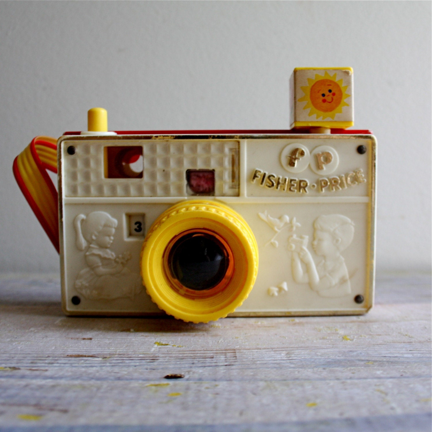 vintage fisher price camera. Black Bedroom Furniture Sets. Home Design Ideas