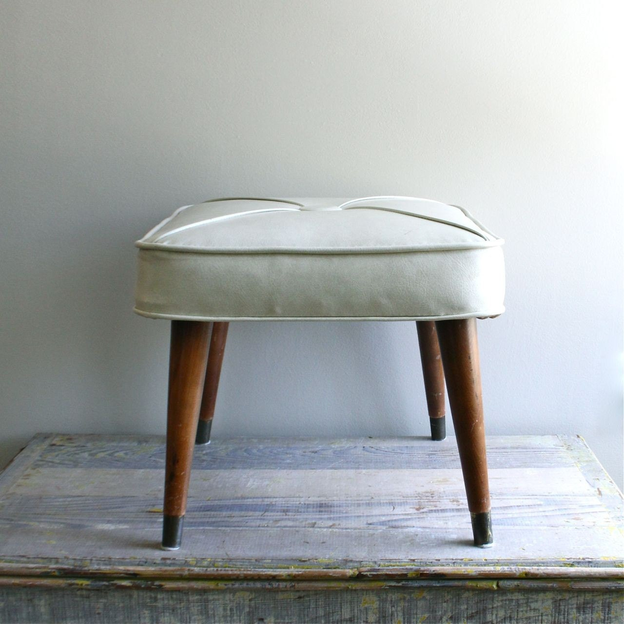 Mid Century Foot Stool
