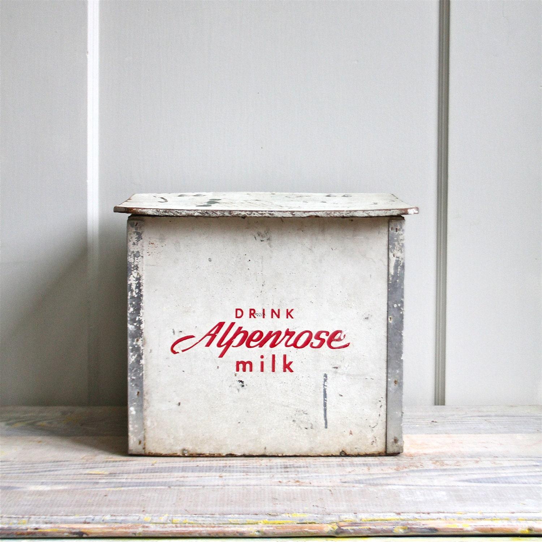 reserved vintage milk box. Black Bedroom Furniture Sets. Home Design Ideas