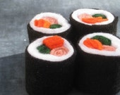 California Rolls Sushi Felt Food