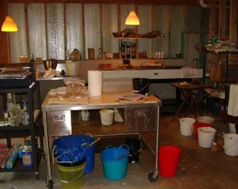 Papermaking Workshop in Studio Setting - Atlanta Area