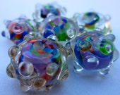 Colorful Encased Frit Beads