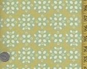 Farmers Market by Sendi Henderson for Michael Miller / Pomegranate Seeds / green  background / 1Yard / last cut