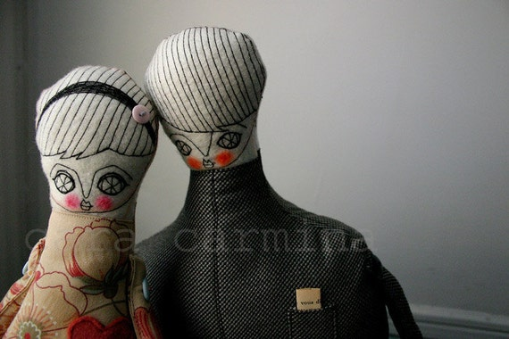 Together -  photo print - dolls in love - letter size