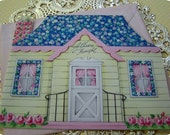 Vintage Greeting Card- Cottage Style