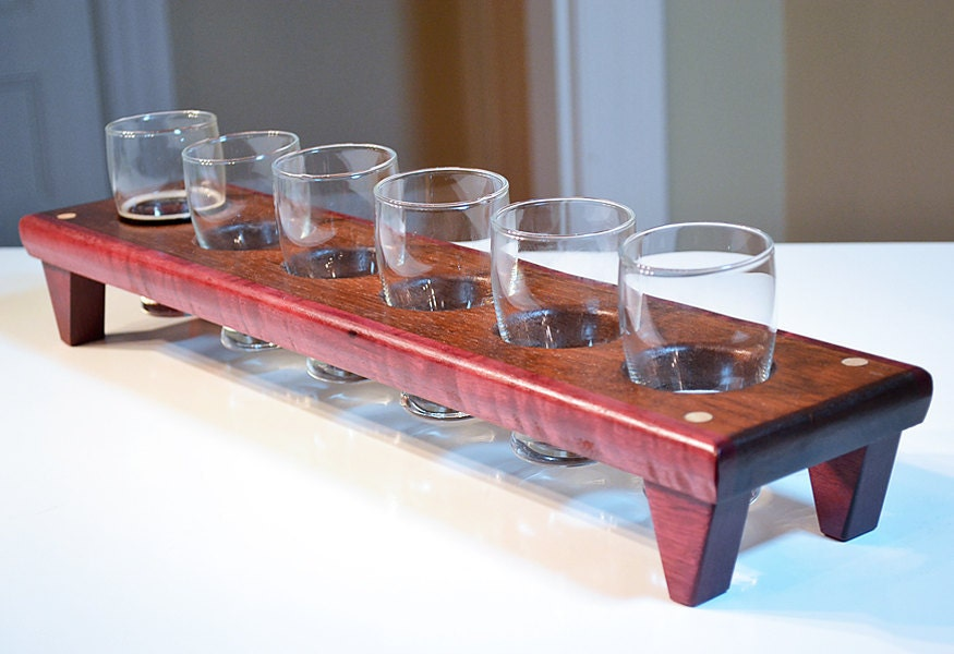 Personalized Custom Engraved Craft Beer Beer Flight Paddle