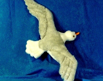 Bird Sewing Pattern Make a Soaring Seagull Easy Sew your own Seabird