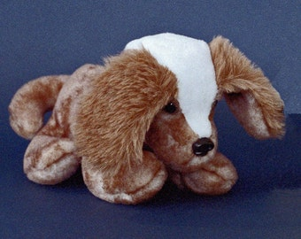 Sewing Pattern Make a Cuddly Puppy Dog Very Easy design from Fantasy Creations