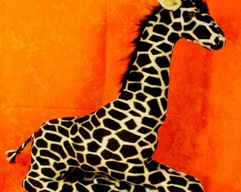 Sewing Pattern Make a Mother Giraffe Stuffed Animal Design from Fantasy Creations