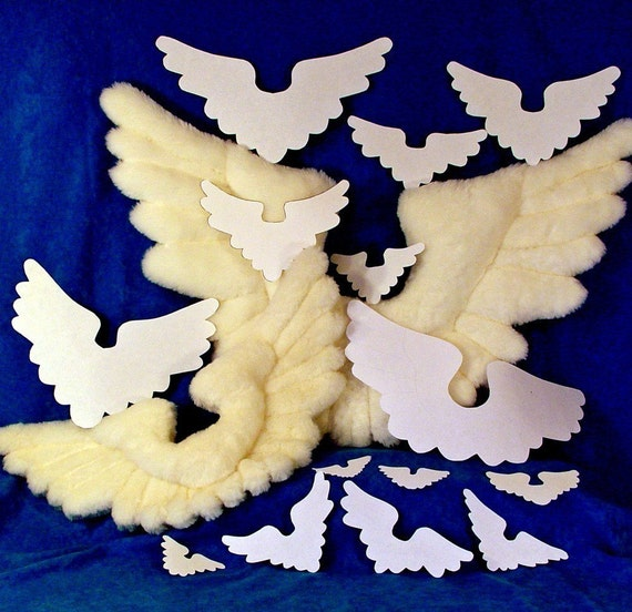 Sewing and Crafts Wing Patterns JUST THE WINGS Volume 1 16 Bird Wings from Fantasy Creations