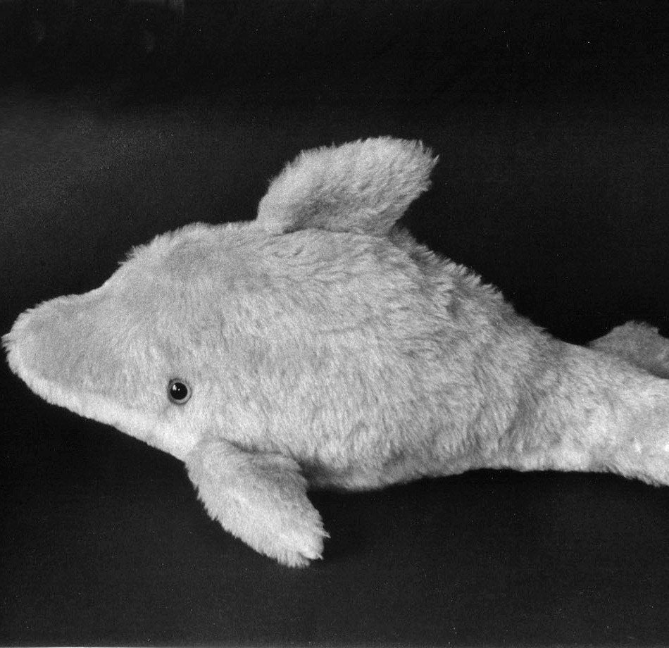 Sewing Pattern Make a Baby Dolphin Stuffed Animal Soft Toy