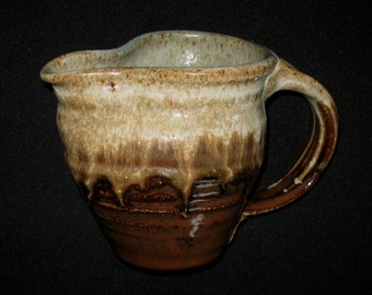 Brown/Cream Casual Pitcher