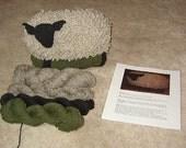 Sheep tea cosy knitting kit