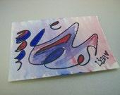 Swirly 5 ACEO