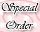 SPECIAL ORDER FOR  mladerri