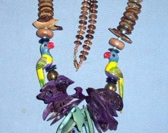 Tropical Color Necklace No.3