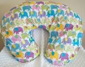 FREE SHIPPING Elephant Parade Nursing Pillow Cover