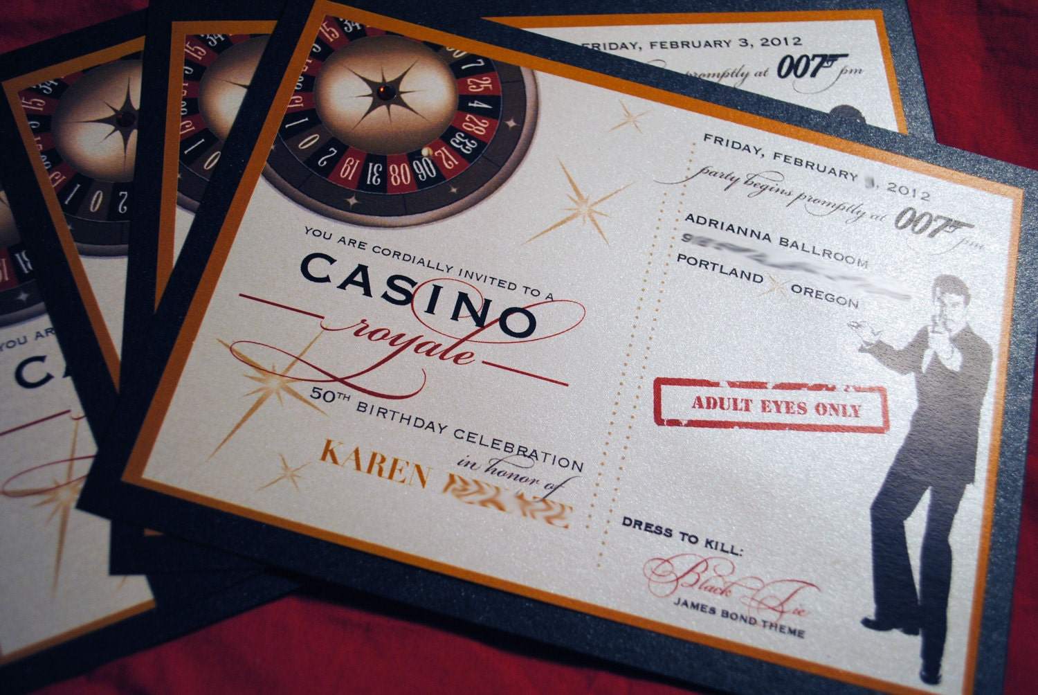Casino Themed Birthday Invitations for beautiful invitations design