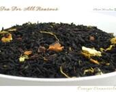 SUMMER SALE - Orange Creamsicle - Loose Leaf Black Tea - 2 oz Bag