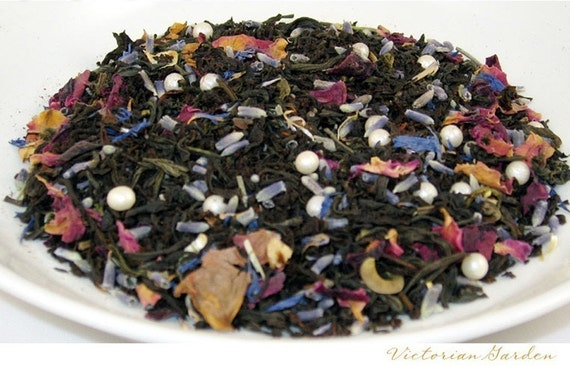 TEA - WINTER SALE- Victorian Garden - (Specialty Black Tea) - 2oz. Bag