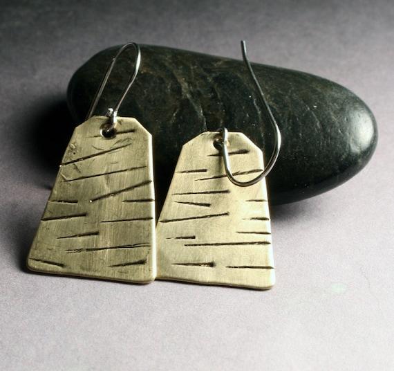 Tribal Jewelry : Geometric Trapezoid Earrings