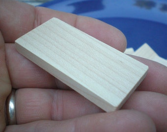 Pre-Drilled Domino Tiles for Jewelry Makers (lot of 15)