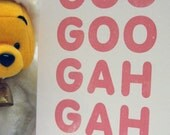 Goo Goo-Gah Gah - New Baby Card