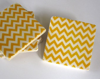 Chevron Coasters (set of 4)
