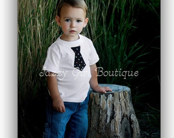 Tie Shirt or Onesie You Choose Fabric NB, 3mo, 6mo, 9mo, 12mo, 18mo, 2 and 4 Short or Long Sleeve