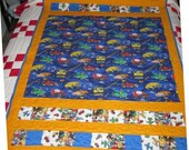 Get to Work Construction Quilt