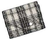 SALE Boucle Mini Wave Wallet - Business Card Holder
