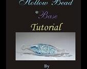 Off Mandrel-(no blowing required) 3D Hollow Bead Tutorial-Unique technique/English