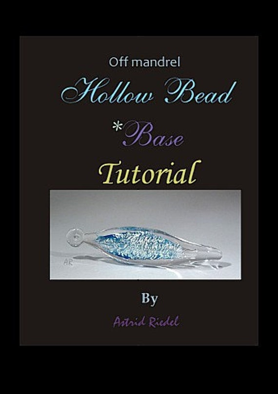 Off Mandrel-(no blowing required) 3D Hollow Bead Tutorial-Unique technique/English