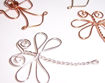 Embellishments . Angels Dragonflies and Butterflies . Wire Embellishments for Scrapbooks, Cards and Crafting