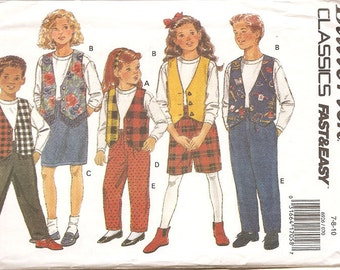 Butterick 6926 Separates Pattern Sizes 7 8 10