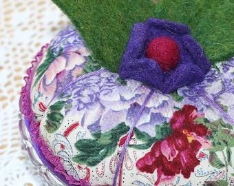 Flora............Purple Flower Pincushion