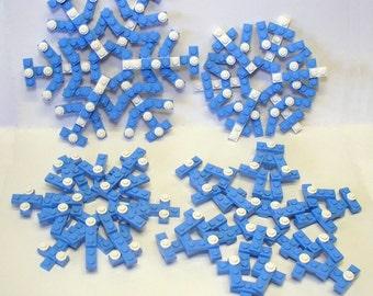 Set of 4 Snowflake Ornaments