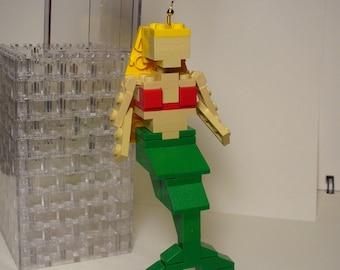 Custom Miniland Mermaid Ornament