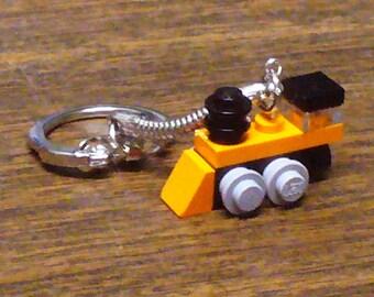 Orange Mini Train Engine Key chain