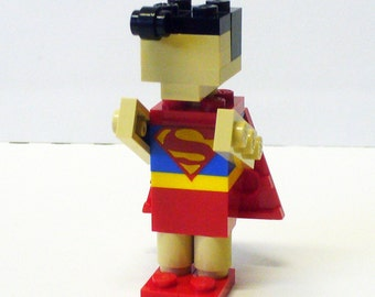 Custom Miniland Boy in Super man costume