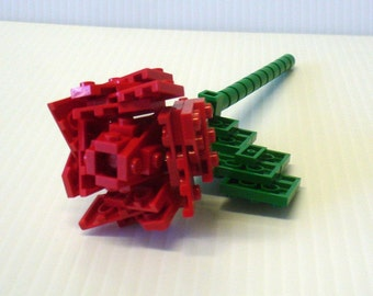 Custom Single Stem Open Rose